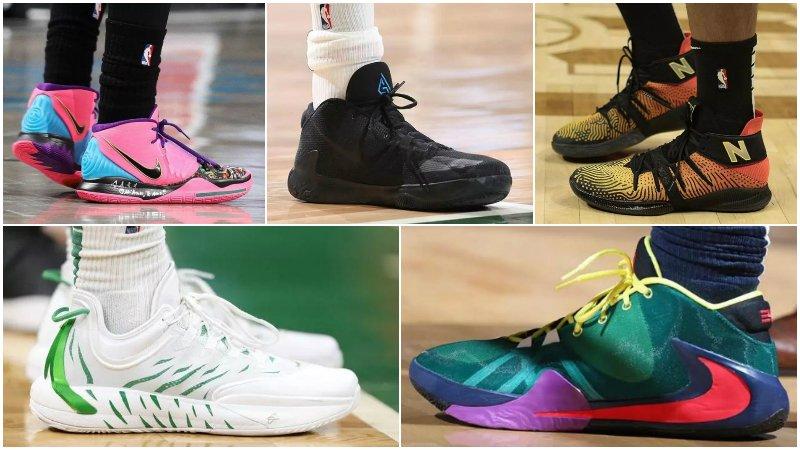 球鞋匯 | NBA球員今日球鞋上腳:字母哥一代又有新配色,大帝的簽名鞋要來了!-Haters-黑特籃球NBA新聞影音圖片分享社區