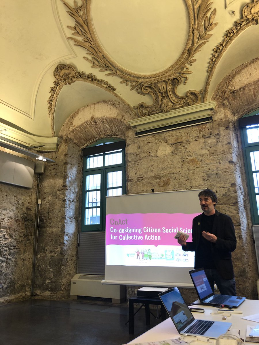 test Twitter Media - #CitizenScience #social #science is kicked off in #BCN #CoAct ⁦@EUCitSciProject⁩ https://t.co/3vQEYO6tIm