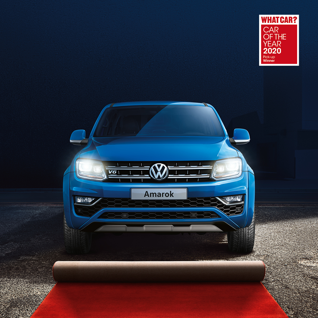 The Volkswagen Amarok has won Best Pick Up Truck of the year at the @whatcar Awards for the second year running.  The Amarok impressed the judges with its brilliant blend of on and off-road abilities. #WhatCarAwards