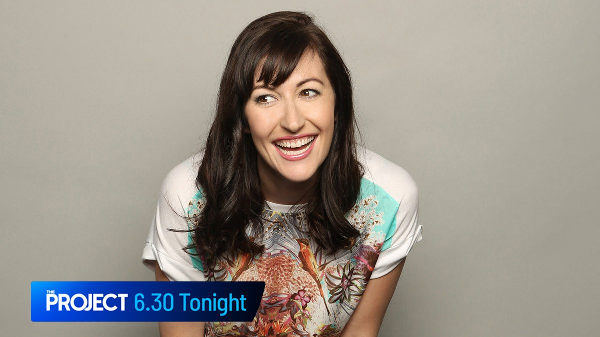 @CeliaPacquola is also stopping by #TheProjectTV desk tonight!