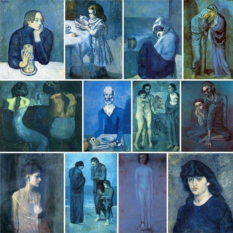 In The Blue Period of Picasso <br>http://pic.twitter.com/d7PcDhjzHT