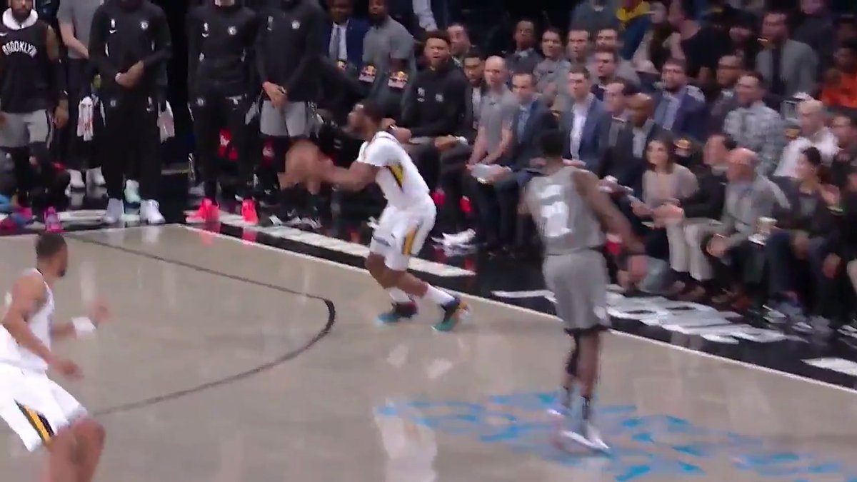 Emmanuel Mudiay at the buzzer for your Heads Up Play of the Day!