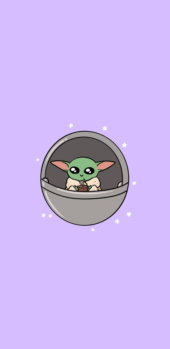 Megan On Twitter Made These Baby Yoda Phone Wallpapers For My Sis