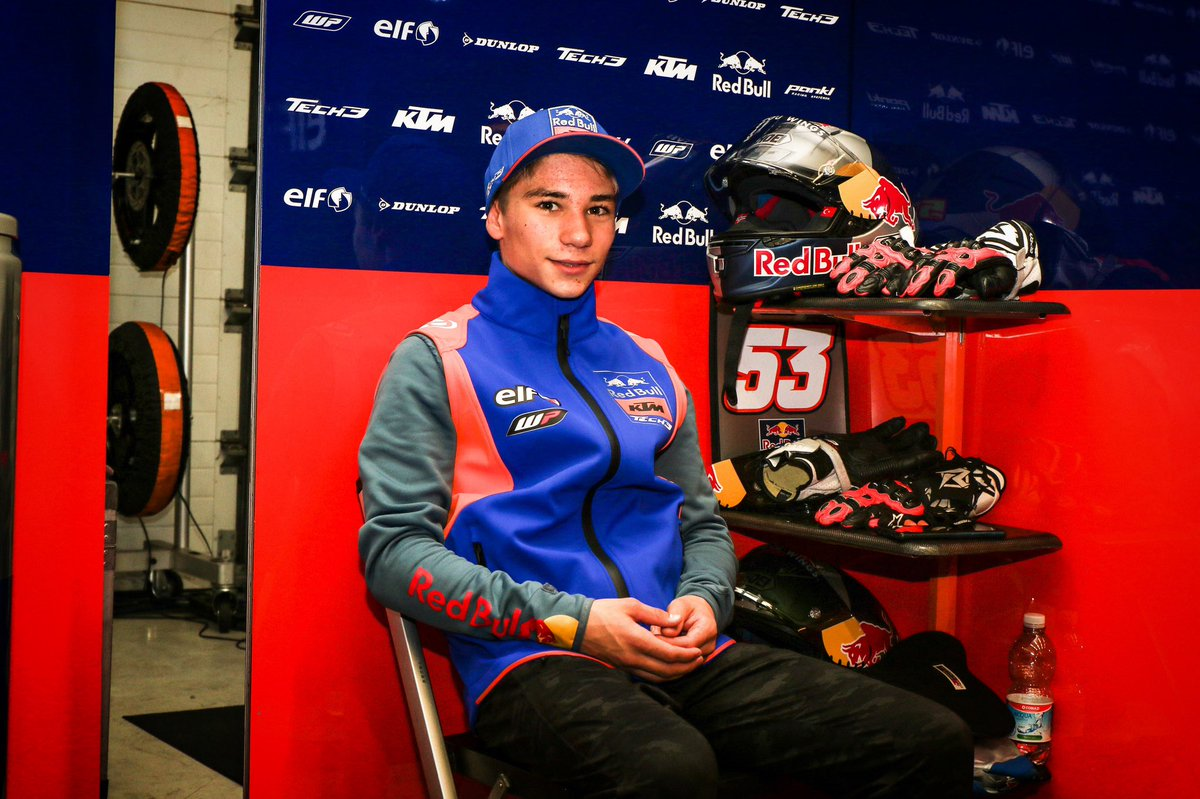 5️⃣3️⃣ days until #QatarGP 💪🏻✊🏻 #Moto3 #KTM #Tech3 #DO53 #MotoGP @MotoGP