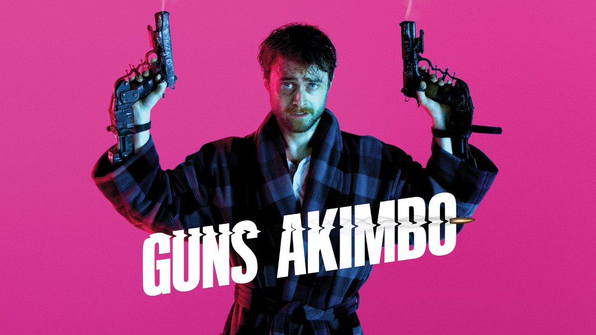 ダニエル・ラドクリフが両手に銃をくくり付けられ、殺し合いのゲームに強制参加させられる映画「Guns Akimbo」予告編。両手が不自由でズボンすらまともにはけない男が果たして危険なゲームを生き抜くことが出来るのか?!サマラ・ウィーヴィング共演。2月28日より全米公開。