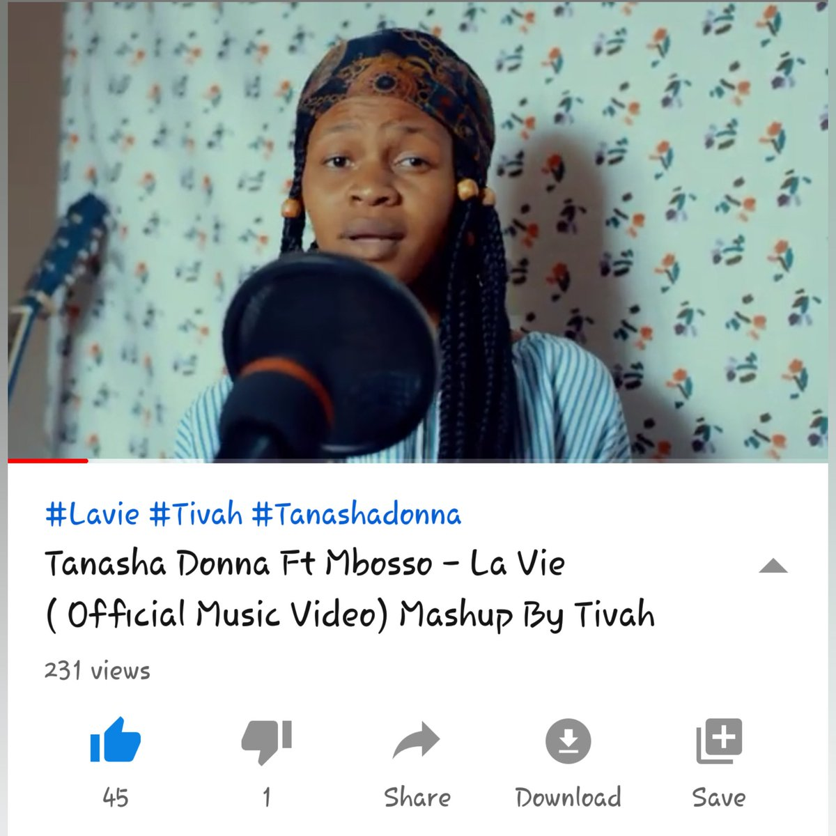 Karbu Kuangalia Mashup #Lavie By @TanashaDonna Ft @mbossokhan Iliyofanywa Na @officialtivah Full Link In Her Bio #WCB4LIFE #Simba_wa_morogoro #SimbaWaMorogoro #diamondplatnumzpic.twitter.com/S8S8EKmS0A