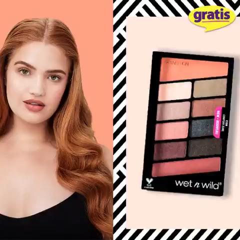 wet n wild Color Icon Far Paletindeki renkler sayesinde göz makyajınızla tüm gün çevrenize ışık saçın! wet n wild Color Icon Far Paleti Comfort Zone sizin için sadece mağazalarımızda ve http://gratis.com'da!