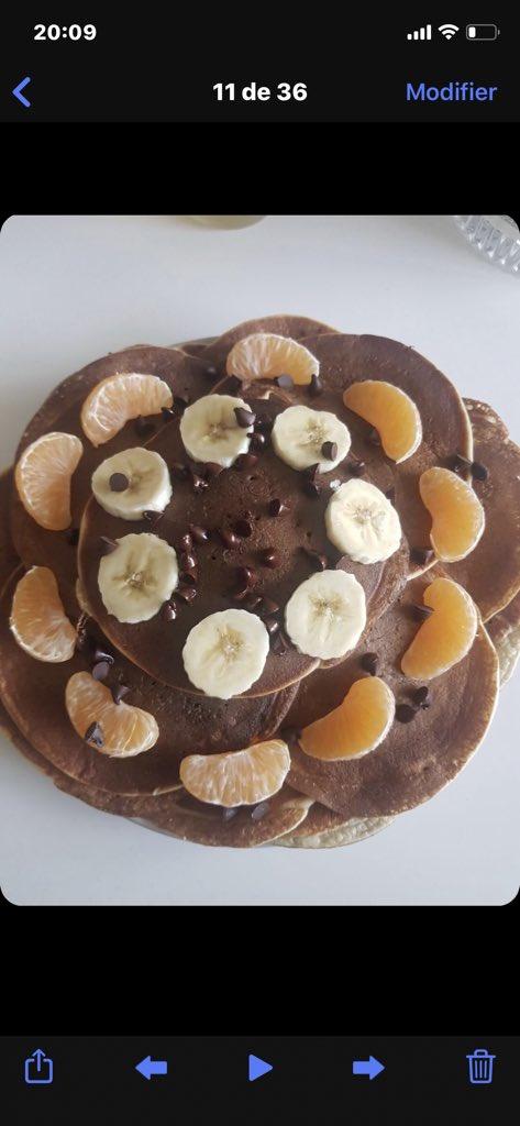Rien de mieux que de bon pancakes pour commencer la journée !! Si tu veux la recette demande moi #fitness #fitnessaddict #fitness_motivation #fitnesschallenge<br>http://pic.twitter.com/WGf9krgXD4
