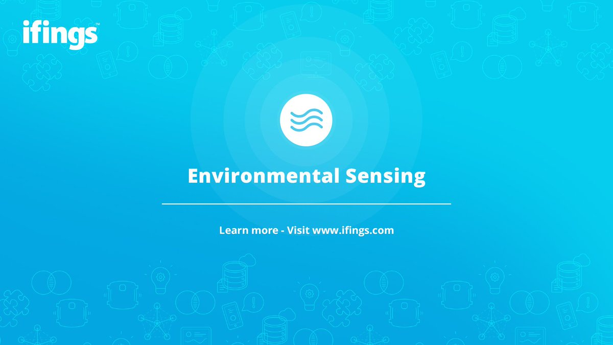 Be in the know  Our range of sensing devices enables you to know the temperature of a room, when an appliance loses power, when smoke is detected and more, making it the perfect solution for your business. Visit: http://www.ifings.com  #iot #sensors #sensingdata #Industry40pic.twitter.com/4Kjq03KJZH