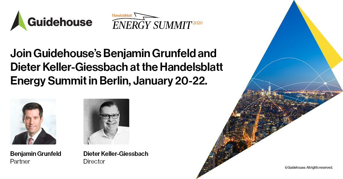 Join @NavigantEnergy's Benjamin Grunfeld & Dieter Keller-Giessbach at the Handlesblatt #Energy Summit in Berlin, 1/20-1/22. Learn more: https://guidehou.se/39HW1RU  #EnergyCloud #EnergySummit pic.twitter.com/g11NoTB2ru