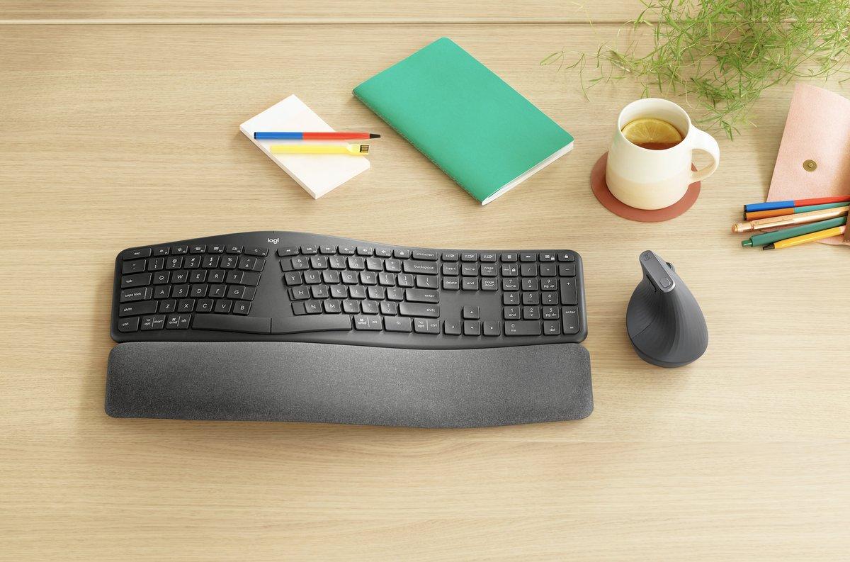 Logitech's new split Ergo K860 keyboard expands its ergonomic accessory lineup