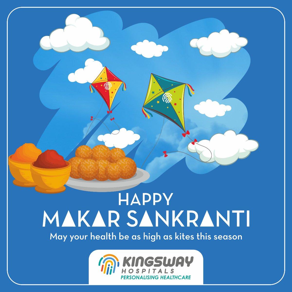 Wish you all Happy Makar Sankranti! May your health be as high as kites this season. #KH #MakarSankranti #goodhealth #centralindia #healthcaredestination pic.twitter.com/3NTuZ0yl66