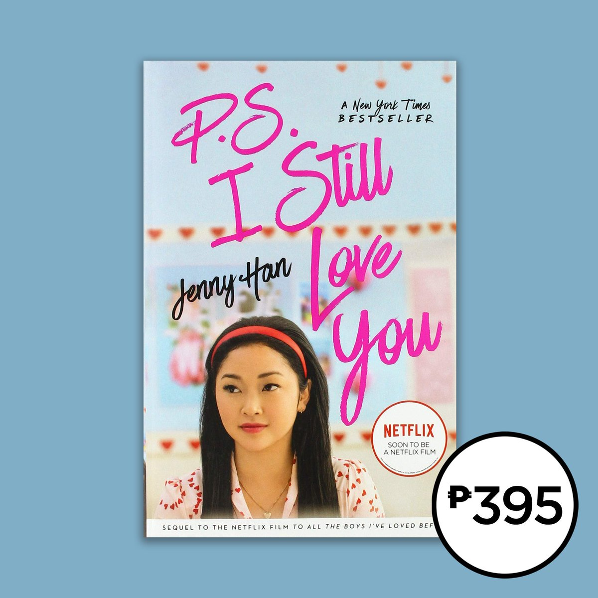 Are you excited to meet Noah AND watch P.S. I Still Love You this February? Don't forget to grab the movie tie-in editions of To All the Boys I've Loved Before and P.S. I Still Love You by!  Get them in selected branches. #NBSNewReads #NBSfinds #NBSeveryday