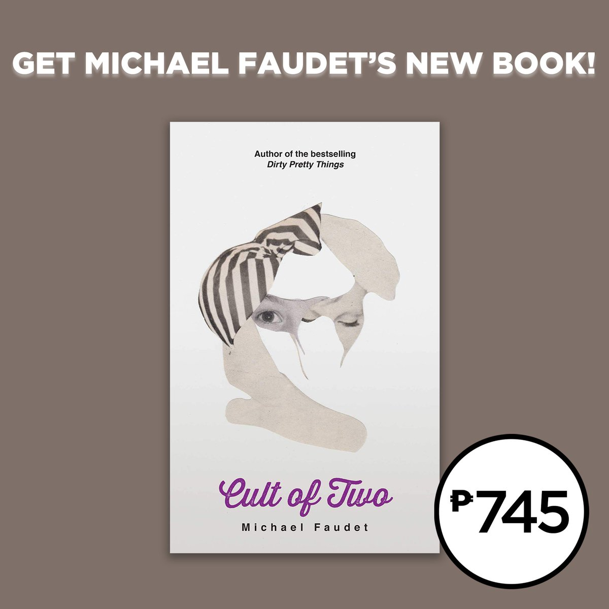 Only P745 for Cult of Two by Michael Faudet. Get it in selected branches nationwide or shop online: . #NBSNewReads #NBSfinds #NBSeveryday