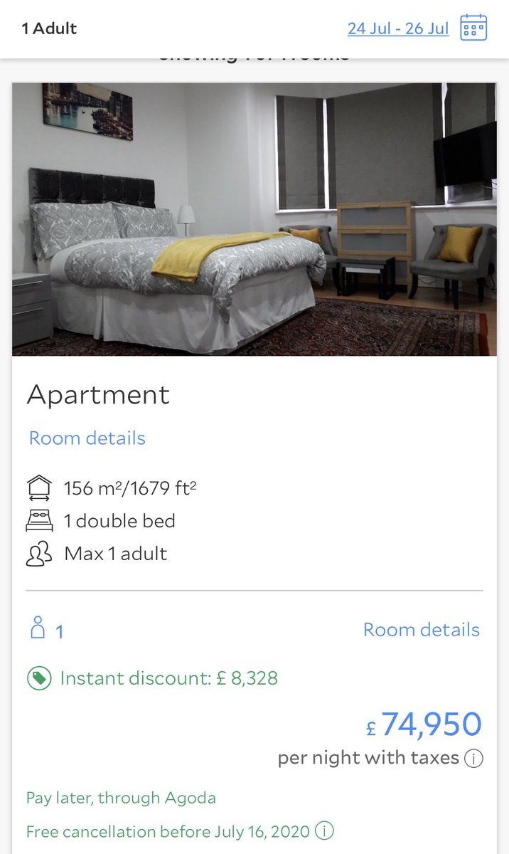 Definitely found my accommodation for #LFCC this year. Little out of my price range though. Anybody fancy going halves? <br>http://pic.twitter.com/F3GL5IfMPE
