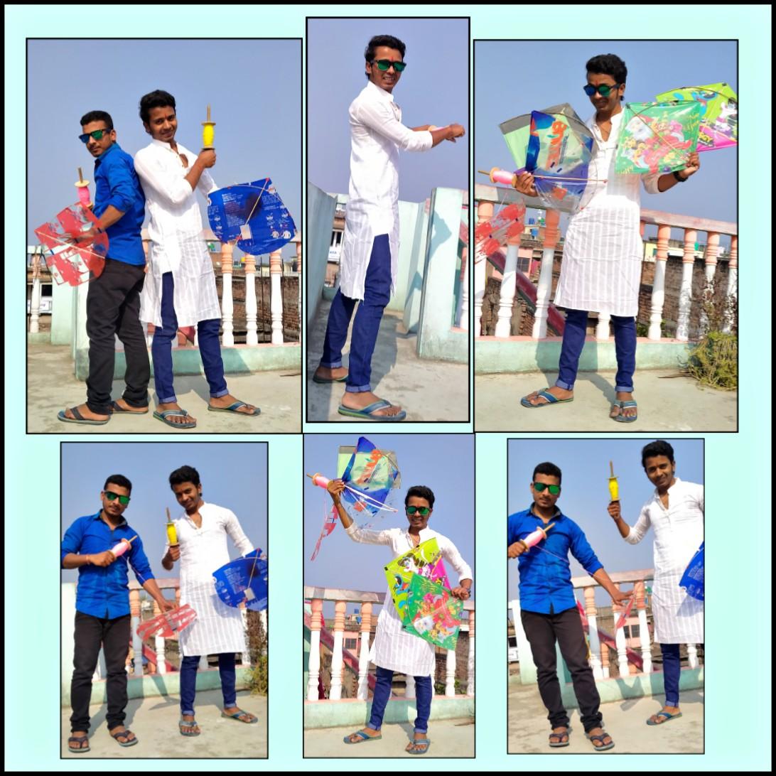 Ajker #MakarSankranti er Special Kichu Pic..   Ami R Amar Bondhu #Chandu #FeelingsHappy #EnjoyMoments   #HappyMakarSankranti2020 @idevadhikari  @DEV_PvtLtdpic.twitter.com/sCkGM2dIOc