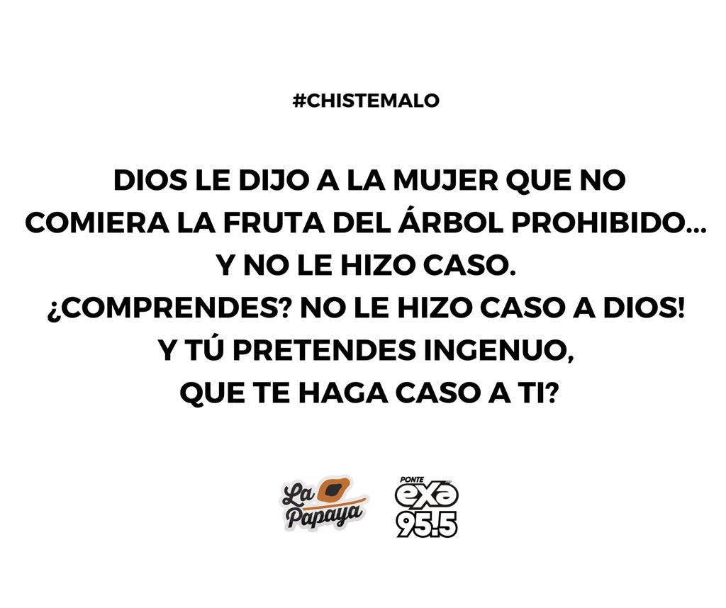 #ChisteMalo pic.twitter.com/Oximw59cbr