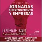 📍📢 El próximo 7 de febrero se celebrarán las V Jornadas de Emprendimiento y Empresa de La Puebla de Cazalla. Más información e inscripción ➡️ https://t.co/68jfwvjjdx vía @Ayto_P_Cazalla  #PueblaDCempleo #JornadasSE #EmprendeSE #EmpresasSE