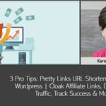 URL shorteners can do MUCH more for you than just cloak affiliate links. The Pretty Links WordPress plugin is a favorite because it's cheap, dependable and offers tons of useful features. https://t.co/gZFjOm4T1G @karonthackston