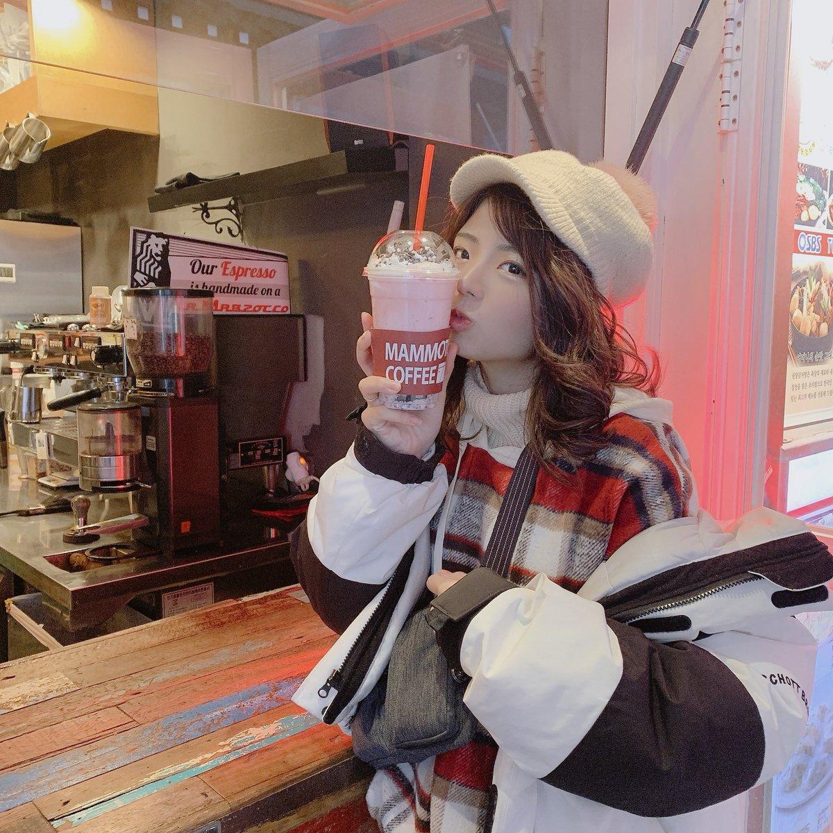 韓国は寒いよ#明洞 #明洞カフェ #明洞ドリンク #travel #travelkorea #myongdongpic.twitter.com/09TXuNLDE4