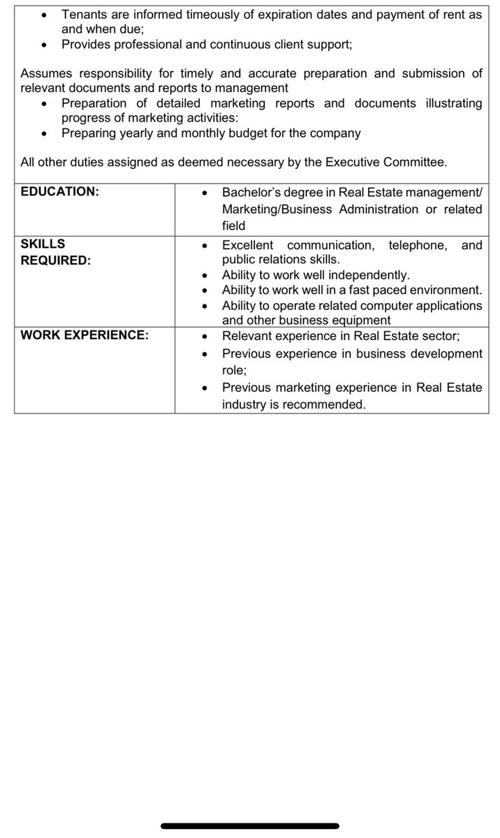 On Twitter Urgent Recruitment Real Estate Marketer Business Development Role Location Oniru Lagos See Job Description Attached Send Cv And Sales Marketing Portfolio To Themrecruiter Gmail Com Only Qualified Candidates Would Be Contacted