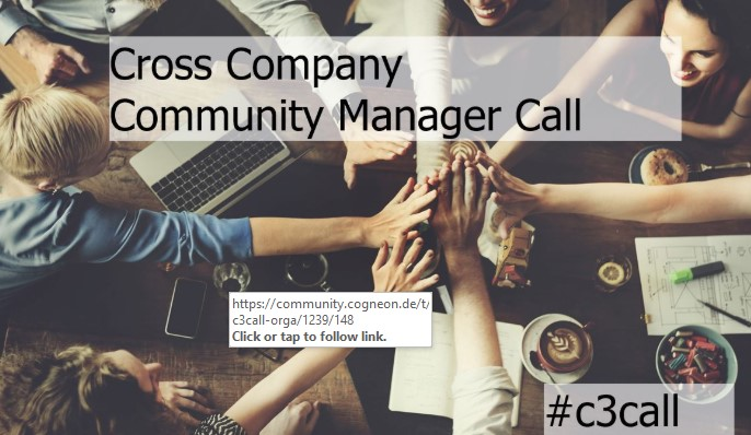 """C3Calls connect #CommunityManagers across organizations to exchange. Join our 4th #C3Call about """"Trends 2020 & astronauts"""" together with our special guest @TanjaOnTour, chairwoman @BVCM, tomorrow,16th January 04:00 - 05:00 PM CET via this Zoom Meeting: https://lnkd.in/d8trQqV"""
