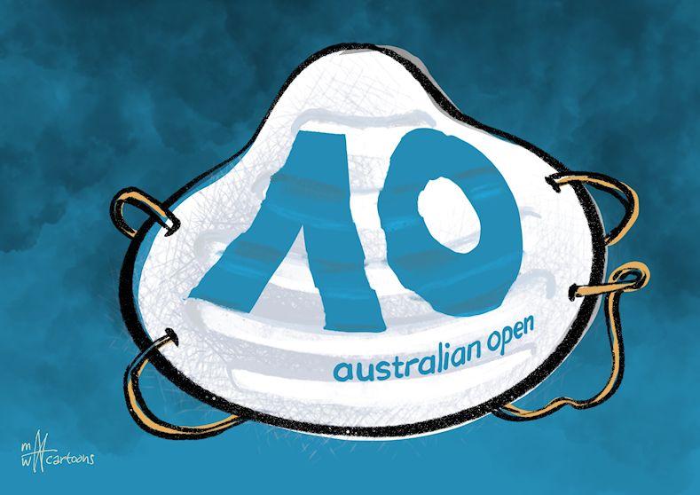 The @AustralianOpen + the smoke of the #wildfires. @FOXSports @foxsportsaus @Australia #australianopen #australia #wildfires #tennis #toptennis #federer #nadal #djokovic @RafaelNadal @Djokernole @RogerFederer @ATP @atptour @CartoonMovement @CartooningPeace @UNfccc #climatechange