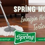 Image for the Tweet beginning: Spring Mop ile Evinizin Her
