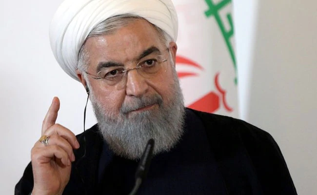 "Iran President rejects idea of new ""Trump deal"" in nuclear row.https://www.ndtv.com/world-news/iran-president-hassan-rouhani-rejects-idea-of-new-trump-deal-in-nuclear-row-2164478 …"