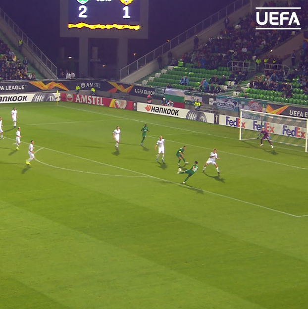 Ludogorets' Claudiu Keșerü   In the group stage:    #UEL    @Ludogorets1945
