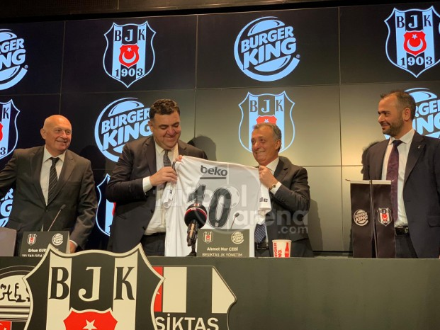 📸 Beşiktaş ile TAB Gıda (Burger King) arasında sponsorluk anlaşması imzalandı. https://t.co/tkbyBIpWU8