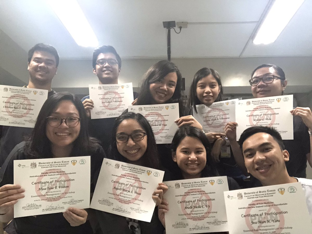 Thank you Department of Anesthesiology 💛💉 #AlagangAnes