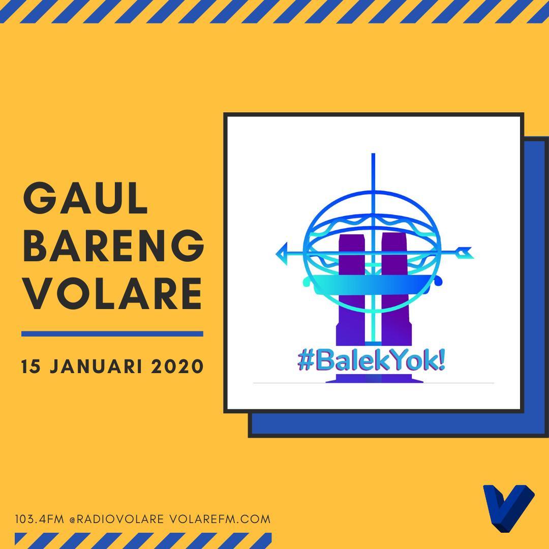 Gaul Bareng Volare: Perantau dari Balek Yok!