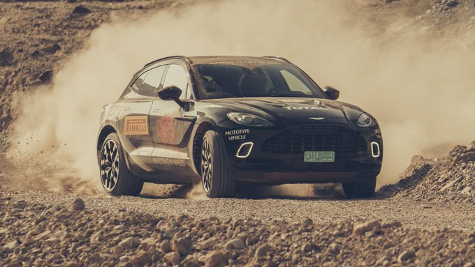 RT @BBC_TopGear: Aston's Cayenne and…