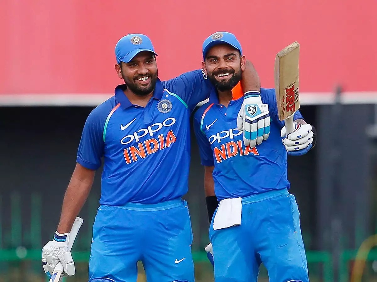 Congratulations and best wishes to Indian Opener @ImRo45 for receiving the ICC Men's ODI Cricketer of the Year 2019 And #TeamIndia Caption @imVkohli for receiving #ICCWorldCup2019 Spirit Of Cricket Award.  #ICCAwards<br>http://pic.twitter.com/GTG40xqat8