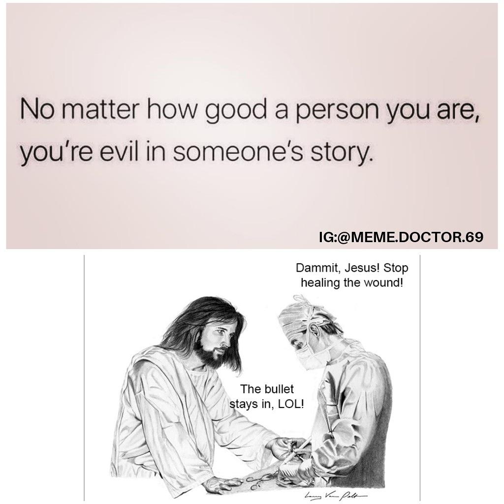Annoying Jesus is the best timeline. https://www.instagram.com/p/B7Vr0MtHkKa/?igshid=19uvbfix25xbg…  #jesusmemes #twittermemes #memes #jokes #humor #comedy #cohmedy #assholejesus #annoyingpeople #nothelping #imhelping #relatable #relatablememe #relatablepost #originalmeme #originalpost #dankmemes #funnyaf #lmao #roflpic.twitter.com/Z0muuvfpSX
