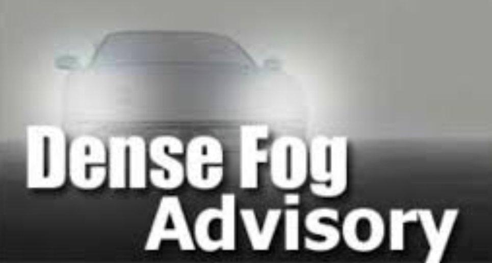 @CincyPD's photo on Dense Fog Advisory