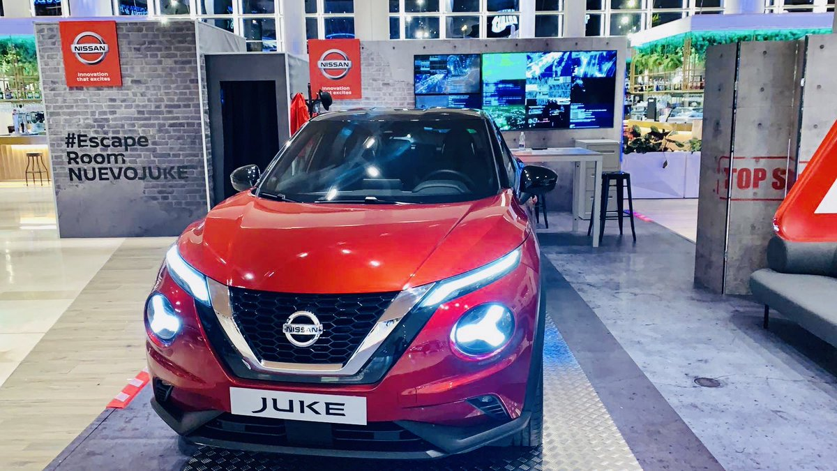Luis Bajo on Twitter: #NewJUKE is right now in #Seville!! Come and join us at Lagoh Mall - Jan 2020! Hundred of Nissan fans all around Spain discovering the #New #Juke #Experience and its #innovative features.. the #Intelligent #SUV of Today #EscapeRoomNUEVOJUKE @VanautoNissan @DivesanSevilla…
