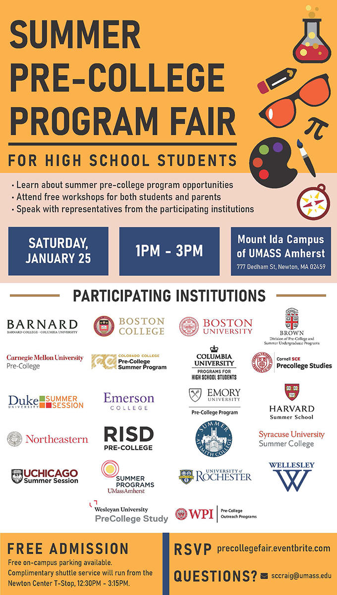 test Twitter Media - Wesleyan PreCollege Study will be at the Summer Pre-College Program Fair on January 25 in Newton, MA.  Join us to discover more about our program or visit https://t.co/hikB4a07Pv to learn more now! https://t.co/uLj6UG8uRa