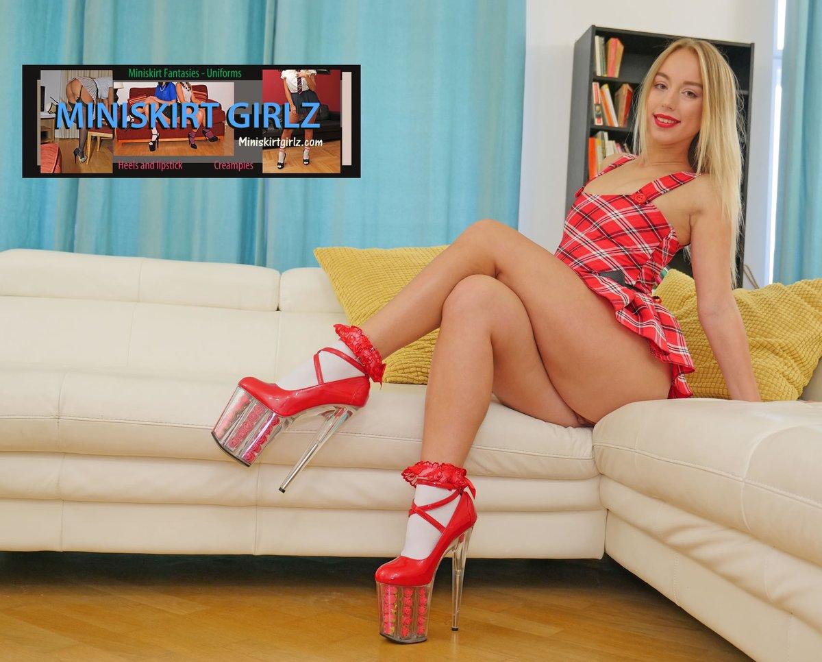 Fun with @realkirathorn for @MiniskirtgirlzX