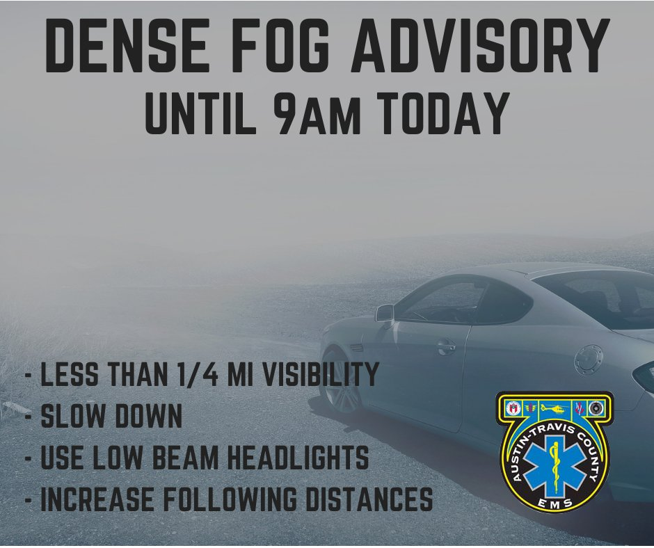 @ATCEMS's photo on Dense Fog Advisory