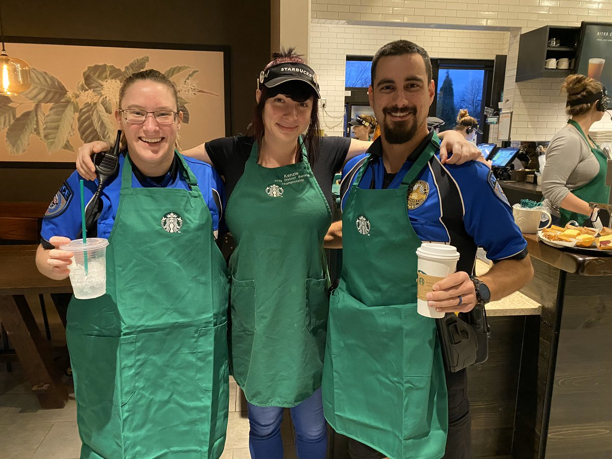 Spending the morning with a great community partner, @Starbucks 10830 Haynes Bridge Rd!  Start your day off meeting some of our staff and a great cup of coffee!   #AlpharettaDPS <br>http://pic.twitter.com/IVdGGLzVMf