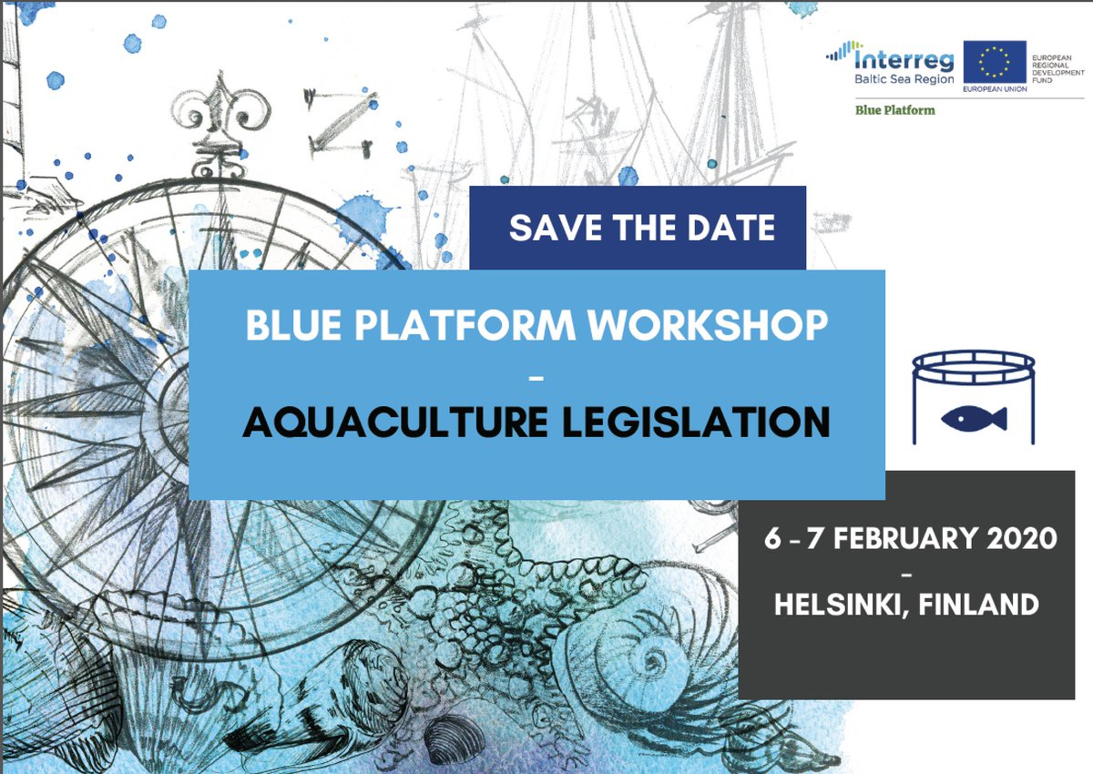 #Aquaculture in the #BalticSea? Why not! Join an event by #MadeWithInterreg #BluePlatform and have your say in how #Interreg lets great solutions become common practice. @Interreg_eu
