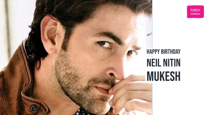 Wishing a very happy birthday to Bollywood actor Neil Nitin Mukesh.