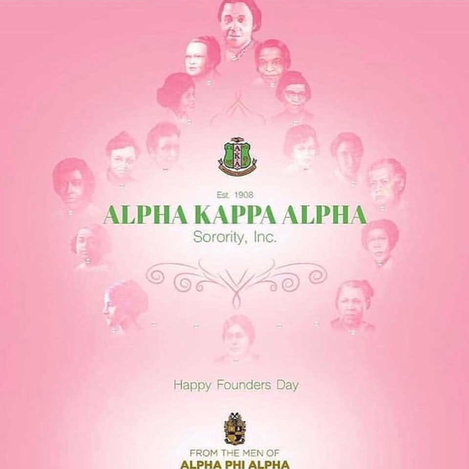 The Phrozen Pharaoh Foundation wishes the ladies of Alpha Kappa Alpha Sorority, Incorporated a Happy Founders Day!