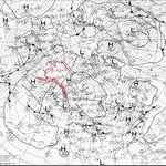 Image for the Tweet beginning: Big high pressure centers near