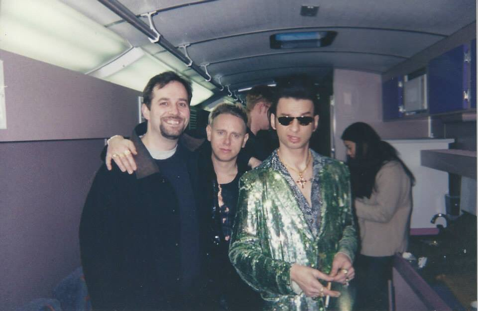 Congratulations to Depeche Mode on making it into the Rock and Roll Hall of Fame! IA black celebration a long time in the making!