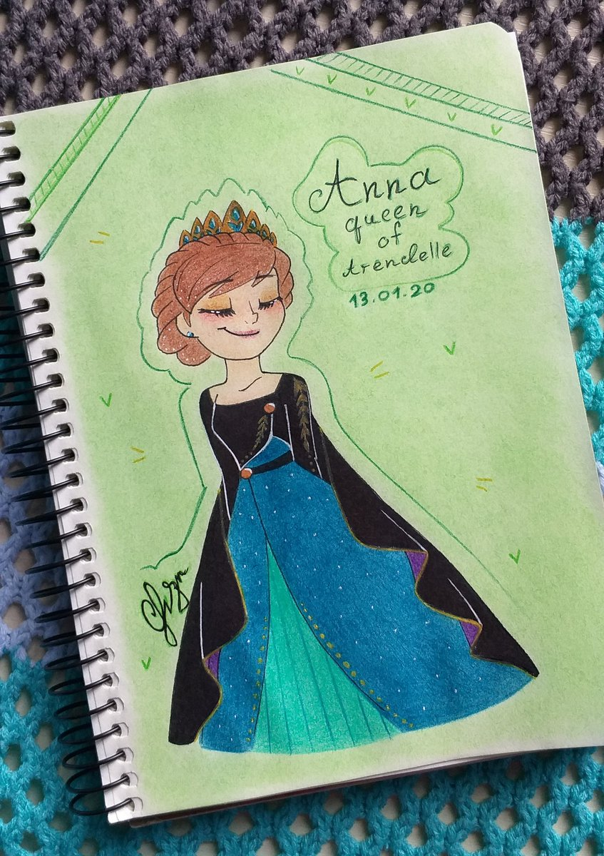 The queen doing the next right thing  #Disney #disneyfrozen #disneyfanart #Frozen  #Frozen2  #frozenfanart #Anna  #annafrozen  #queenanna #fanart #myart<br>http://pic.twitter.com/BclYgRlyKB
