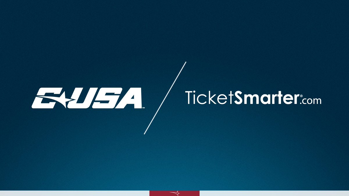 📢: Conference USA and @TicketSmarter have announced a partnership to make TicketSmarter® a C-USA Corporate Champion and the Official Ticket Resale partner for the conference. 🗞 | bit.ly/2QWwCww