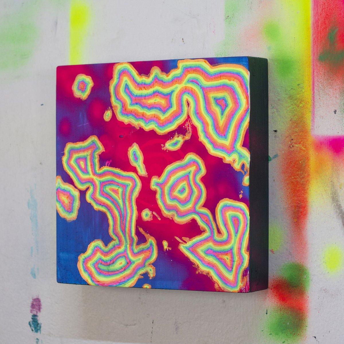 Little fluo rainbow ponds baby painting  - #painting #uvpainting #acrylicpainting #contemporaryart #rainbowpunk #arteobjeto #abstractpainting #stayabstract #visualalchemy #glitchpainting #glitch #glitchart #visualchemy #internetart #webpunk #audacity #tradigitalartpic.twitter.com/FfiYOX7hD3